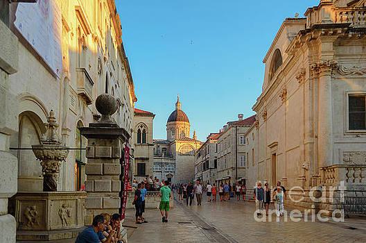 Street of Dubrovnik, Croatia by Sinisa CIGLENECKI