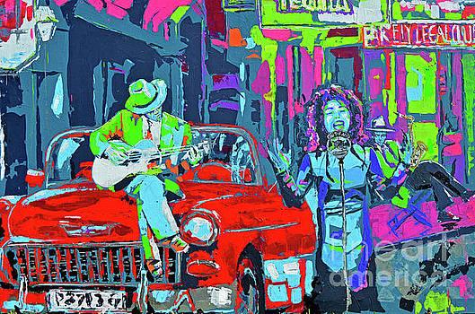 Street Party by Paola Correa de Albury