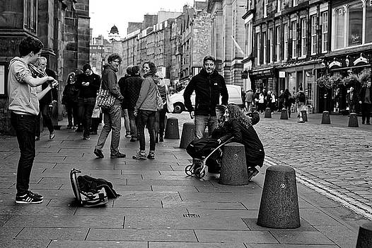 Street Performer by Scott Hill