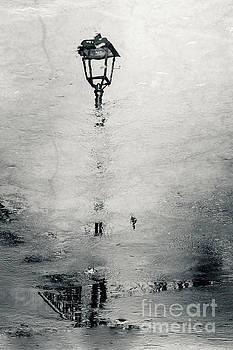Street Pole Reflection by Dimitar Hristov