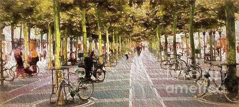 Street Scene by Cecil Fuselier