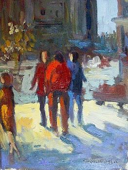 Street scene by George Siaba