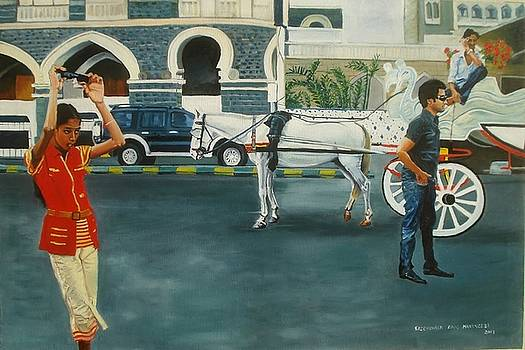 Street scene by Sreenivasa ram Makineedi