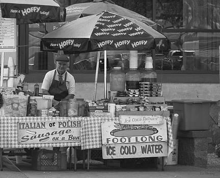 Street Vendor II by Lin Haring