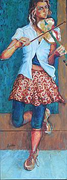 Street Violinist by Jyotika Shroff
