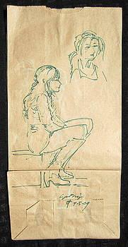Street Walker by Radical Reconstruction Fine Art Featuring Nancy Wood