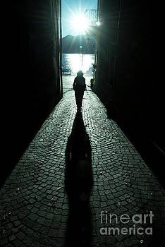 Street with Sunbeam by Mats Silvan