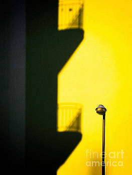 Silvia Ganora - Streetlamp and balconies shadow