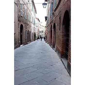 Streets Of #montalcino  #tuscany by Shauna Hill
