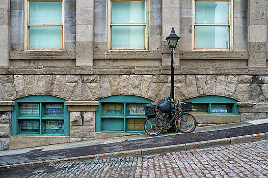 Streets of Old Montreal by Michael Gallitelli