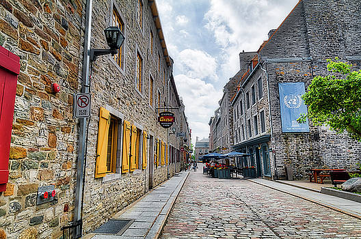 Streets of Old Quebec by Darcy Michaelchuk
