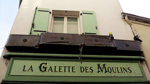 Streets of Paris. Montmartre by Tamara Sushko