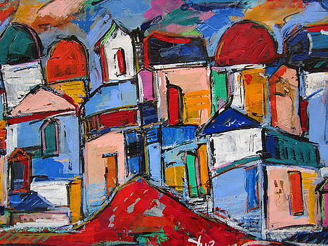 Streets of Rome by Len Yurovsky