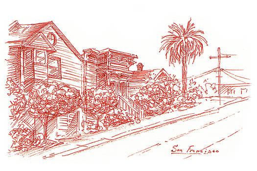 Irina Sztukowski - Streets of San Francisco Richmond District