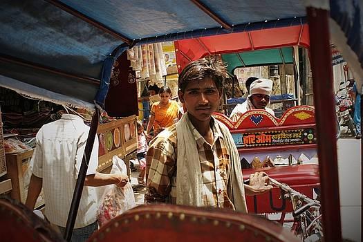 Streets of Vrindavan by Karan Anand
