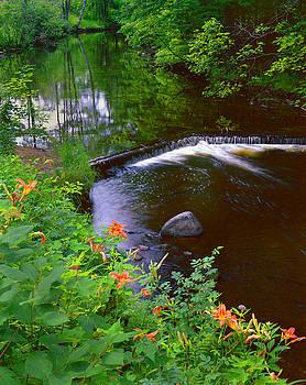 St.Regis River by Frank Houck