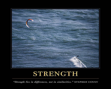 David Simchock - Strength Motivational Quote