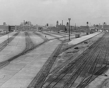 Chicago and North Western Historical Society - Strike Slows Wood Street Train Yard