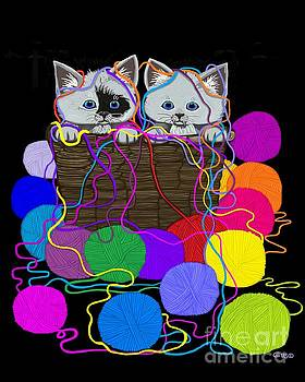 String Theory Cats by Nick Gustafson