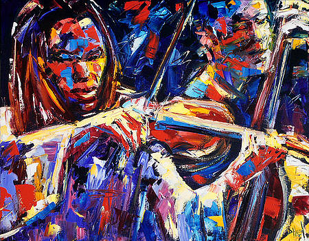 Strings Of Jazz by Debra Hurd
