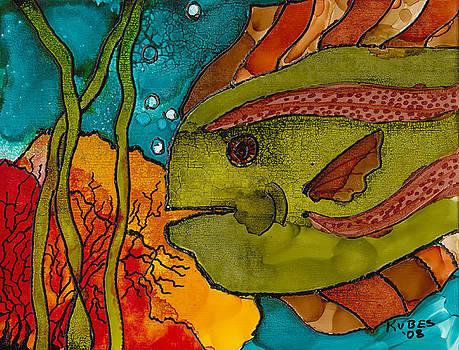 Striped Fish by Susan Kubes