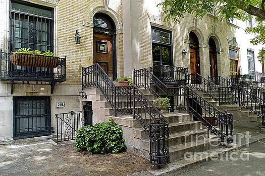 Strivers Row in Harlem by Ben Lieberman