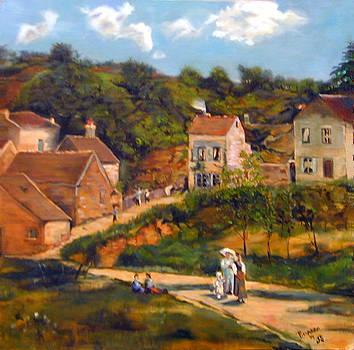 Strolling on the Lane by Joyce Snyder