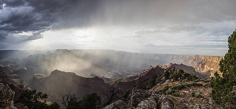 Storm in Grand Canyon  by John McGraw