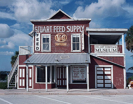 Stuart Feed Store by Richard Nickson