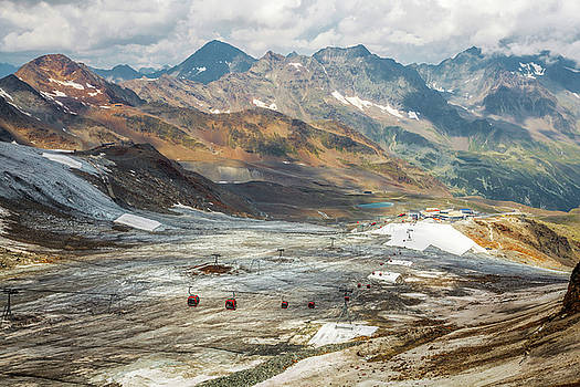 Stubai glacier by Cristian Mihaila