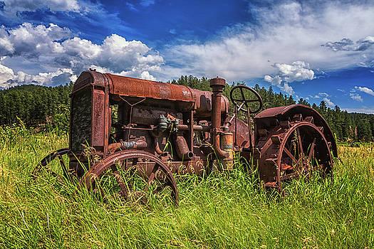 Stuck In The Field by Dewey Farmer