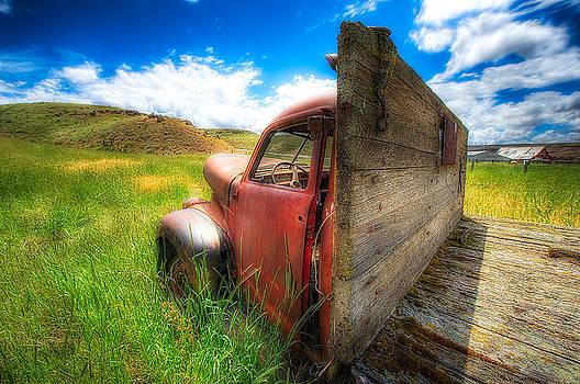 Paul W Sharpe Aka Wizard of Wonders - Studebaker Truck