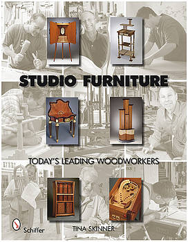 Studio Furniture.  Todays Leading Woodworkers by Scott Reuman