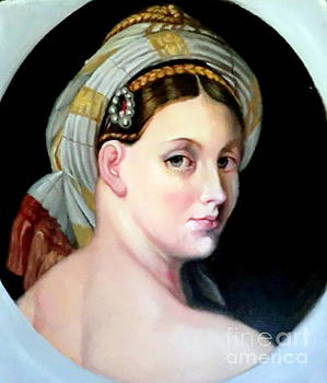 study after Ingres by Hidemi Tada
