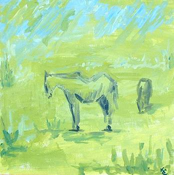 study for Granby painting by KC Chapman