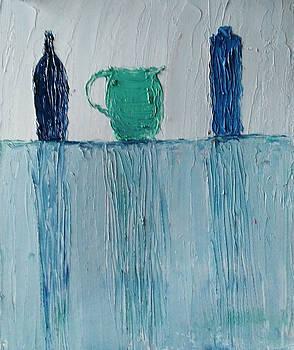 Study in Blue by Bernard Victor