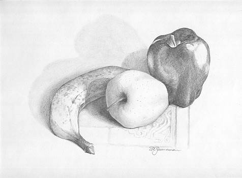 Study in Fruit by Stanley Zimmerman
