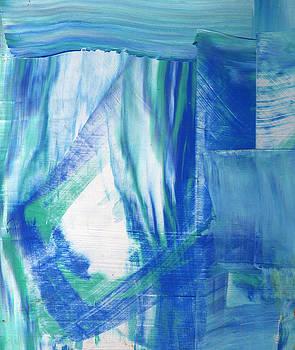 Study in the Blues by Wayne Potrafka