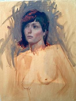 Study of a Girl by Cynthia Mozingo
