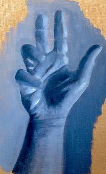 Study of a Hand by Cynthia Mozingo