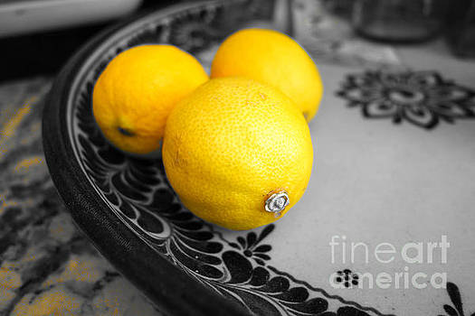 Study of a lemon by Kip Krause