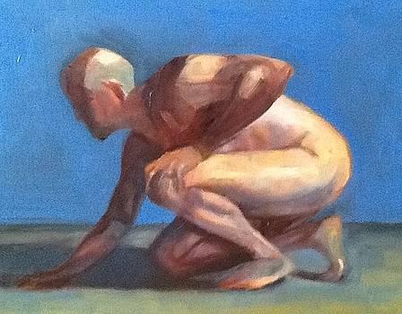 Study of a Man by Cynthia Mozingo