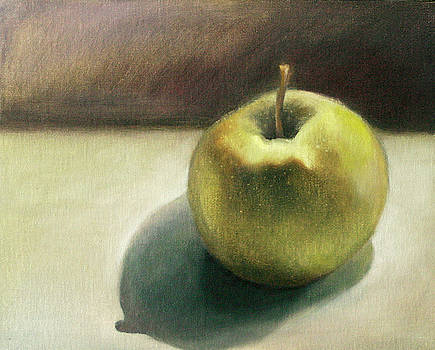 Study of an Asian Pear by Katherine DuBose Fuerst