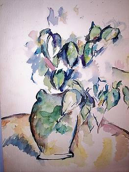 Study of Cezanne by Terry Groehler