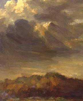 Watts George Frederick - Study Of Clouds 1900