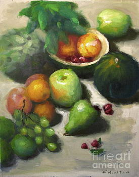 Study of Green by Keiko Richter
