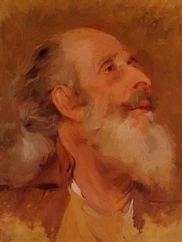 Wright Joseph - Study Of John Staveley Head
