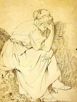 Wright Joseph - Study Of Melancholy Girl