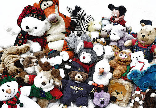 Stuffed Animals by Brent Easley