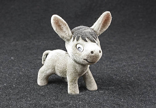 Stuffed donkey by Robert Rodda